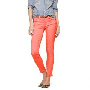 J. Crew Size 31 Ankle Toothpick Coral Pants 78211